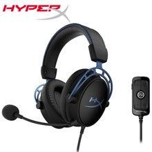 Kingston auriculares HyperX Cloud Alpha S, deportivos, con micrófono, para Juegos de PC