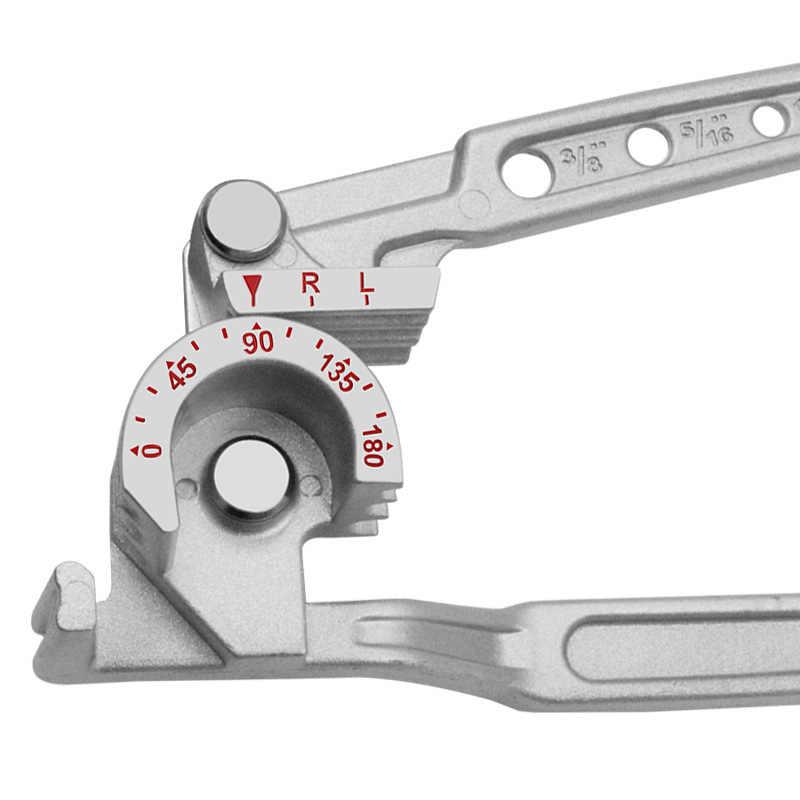 8mm y 10mm De Cobre Tubo Freno Tubo De Combustible Herramienta de doblado Pipe Bender 3 en 1 6mm