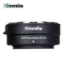 Adaptador de montaje para lentes Canon EF/CVM EF NZ, AF, electrónico, EF S, para montura en Z, cámaras sin espejo