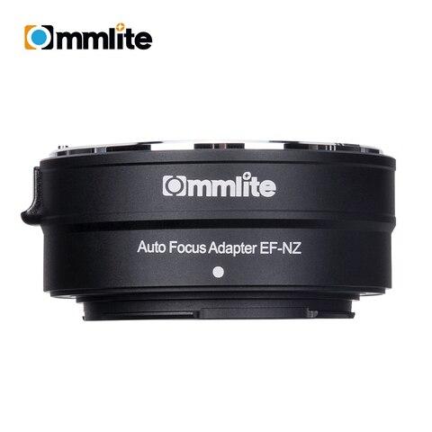 Adaptador de Montagem de Lente Eletrônico para Canon Lente para Usar para Nikon Câmeras sem Espelho Cvm-ef-nz Ef-s Z-montagem af ef –