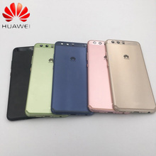 Original HUAWEI P10 Back Housing P10 Battery Cover Case+Side Buttons+Camera Glass Lens VTR AL00 VTR L09 VTR L29