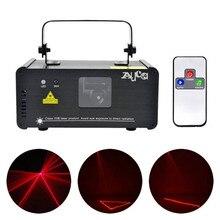 AUCD Mini IR عن بعد 8CH DMX 100mW الليزر الأحمر DPSS مصابيح جهاز عرض ديسكو DJ حفلة عيد الميلاد تظهر شعاع مسح المرحلة الإضاءة DM R100