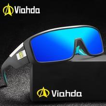 Viahda 2020 موضة النظارات الشمسية الكلاسيكية الرجال كول القيادة موضة خمر العلامة التجارية النساء نظارات شمسية دي سول