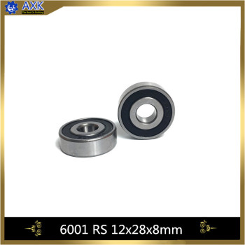6001-2RS Bearing ABEC-5 (10PCS) 12x28x8 mm Sealed Deep Groove 6001 2RS Ball Bearings 6001RS 180101 RS image