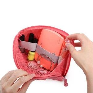 OLAGB Kreative Stoßfest Reise Digitale USB Ladegerät Kabel Kopfhörer Fall Make-Up Kosmetik Organizer Zubehör Tasche
