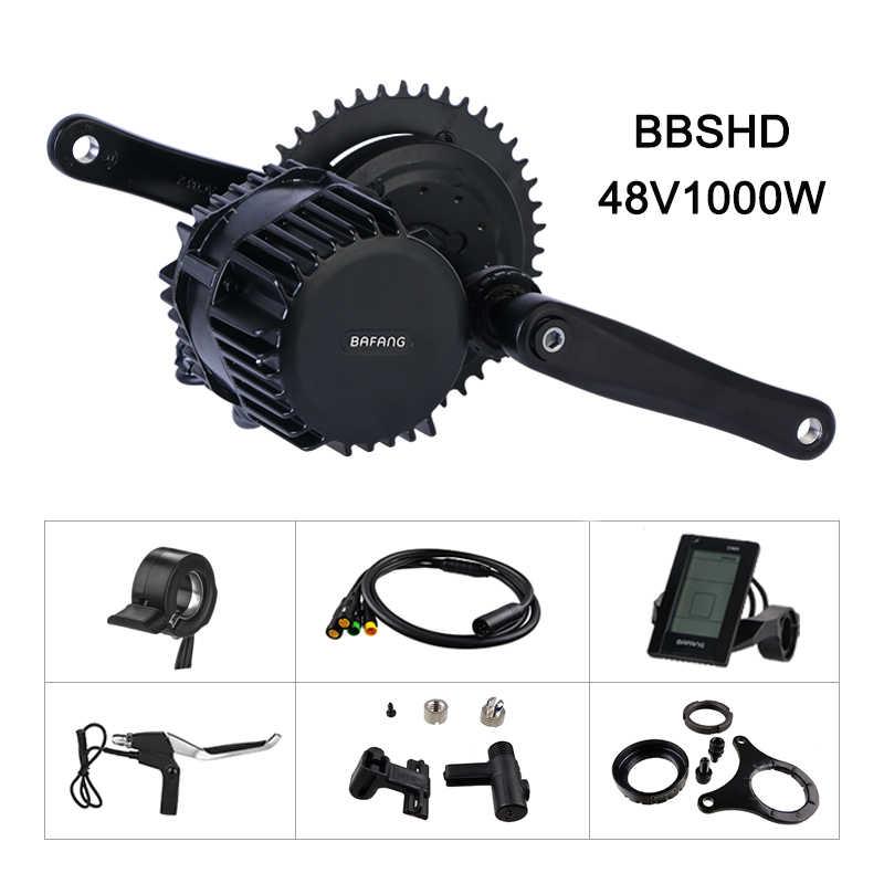 Bafang 48V 1000W 68 Mm BBS03 Bbshd Giữa Ổ Xe Máy Xe Đạp Điện Chuyển Đổi Bộ DIY E Xe Đạp mạnh Mẽ 8fun Mm G320.1000 Động Cơ