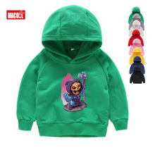 Kids Sweatshirts The Avengers Cartoon Print Hoodies Boy Girls Clothing Super Hero Children Funny Lovely