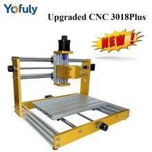 CNC 3018 Pro Max mise à niveau 3018 Plus Machine de gravure avec 300/500W broche CNC routeur en bois, coupe, Pcb fraisage Laser graveur