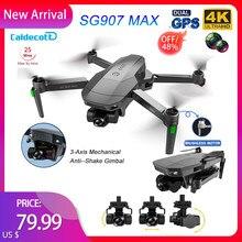 Dron SG907 MAX GPS 4K, cámara Dual de HD, Motor sin escobillas para fotografía aérea profesional, cuadricóptero plegable RC 1200M de distancia
