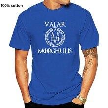 Juego de Tronos Valar Morghulis Camiseta Ropa Verano Hombres Mujeres Camiseta Algod N Camiseta Top Punya
