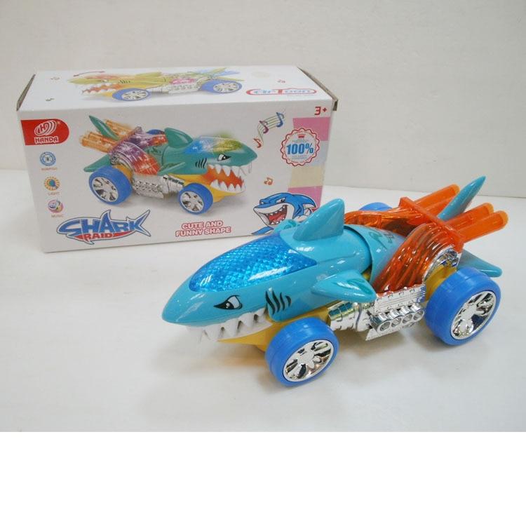 CHILDREN'S Electric Toys Plastic Toy Shark Electric Cartoon Animal Shark