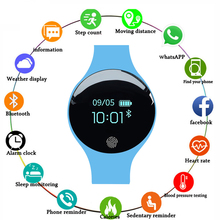 Smart Watch Sport Heart Rate Monitor Smartwatch Call Reminder Bluetooth Fitness Bracelet Tracker for IOS Android 2018 new s9 nfc mtk2502c smartwatch heart rate monitor bluetooth 4 0 smart watch bracelet wearable devices for ios android