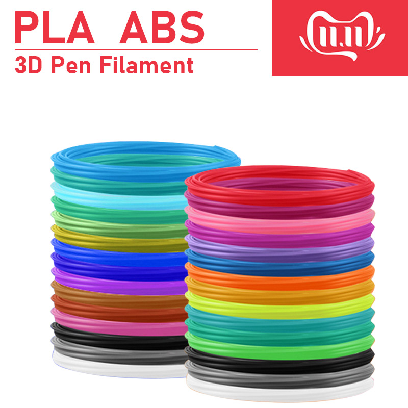 3d Pen Printer ABS / PLA Filament ,diameter 1.75mm Plastic Filament Abs / Pla Plastic 20 Colors ,Safety No Pollution