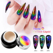Uv-Gel Color-Changing Nail-Art Polish Varnish Lacquer Painting Manicure-Decoration Change-Fluid