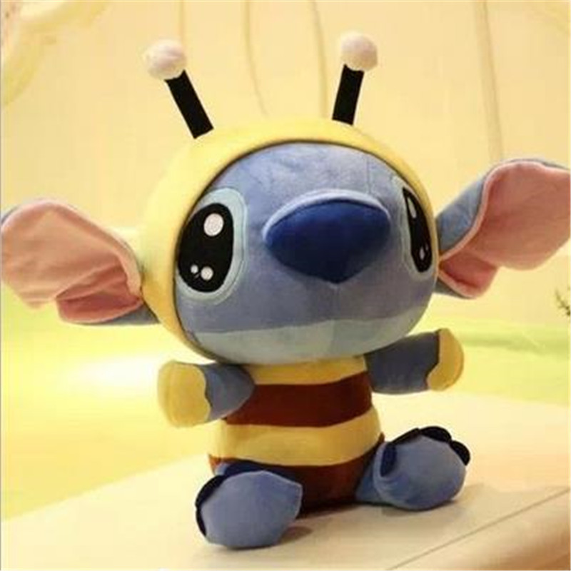 20cm Super Cute Lilo And Stitch Plush Toys Doll Lovely Stitch Toys For Girls And Boys Plush Animals Toy Gifts Minion Juguetes