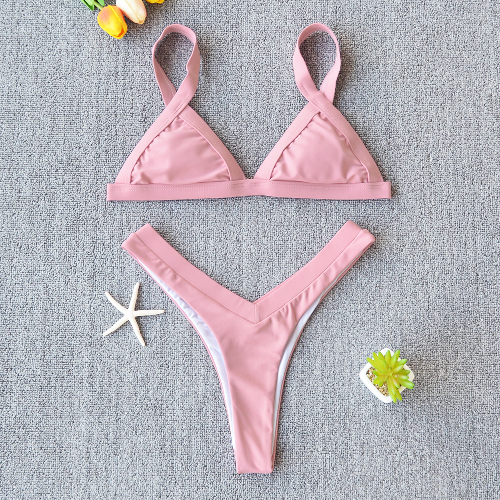 Solid swimsuit for women 6
