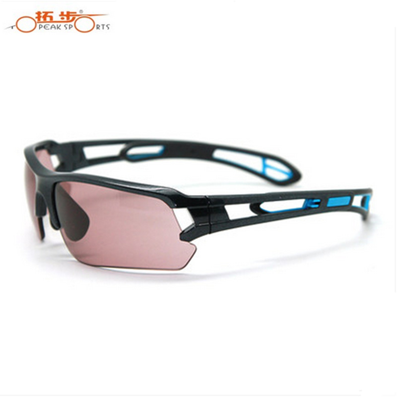 TOPI Glasses For Riding Magic Color Changing Copper Version NXT Windproof Self-Color Changing Outdoor Sports Riding Running Glas