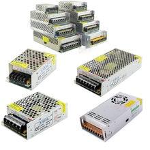 Transformadores para iluminación de DC 5V 12V 18V 24V 36V 48V 48V adaptador de fuente de alimentación 1A 2A 3A 5A 6A 8A 10A 15A 20A 30A 40A controlador de LED de tira LED