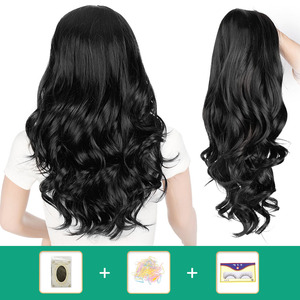 AISI BEAUTY Ombre Long Wavy Wig Synthetic Hair Wigs For Women Cosplay/Party Black Brown Blonde/Grey Heat Resistant Wigs(China)