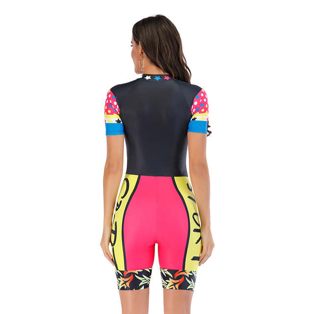 Colourful Surfing One-Piece Swimsuit