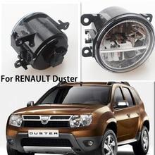 лучшая цена For Suzuki Grand Vitara 2 JT 2005-2015 Car Styling CCC E2 3000-1WK LED Fog Lamps DRL Lights 1 Set