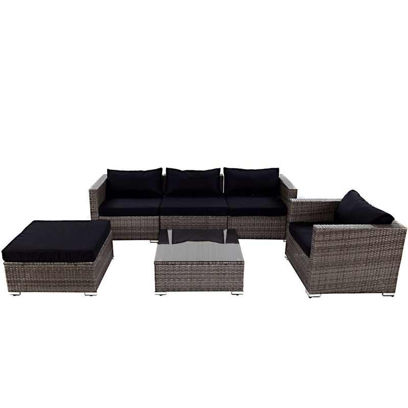 Patio Rattan Wicker Sectional Furniture
