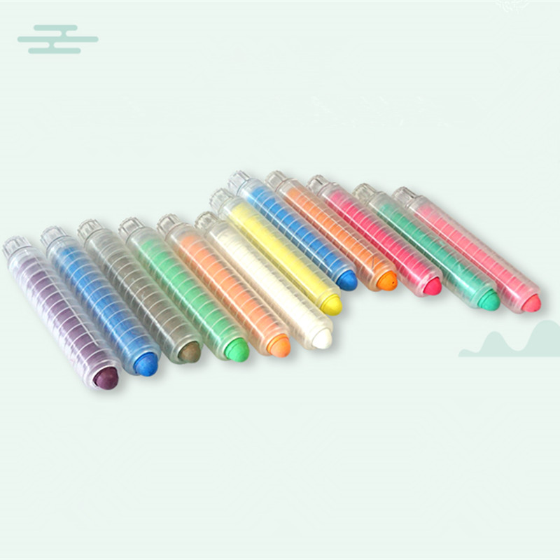 Chalk Sleeve Holders Teaching For Children Home Education On Board Stationery Environmental Chalk Sleeve Random Color