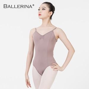 Image 2 - Ballet justaucorps dos nu femmes Ballet fille adulte gymnastique justaucorps danse vêtements ballerine 5549