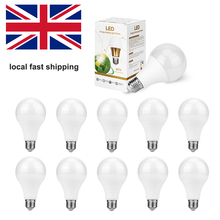 10PCS Led Light Bulb E14 Lamp Ampoule 3W 5W Energy Saving E27 B22 Indoor Bombillas For Chandelier Lighting AC 220V