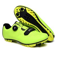 2020 MTB obuwie rowerowe mężczyźni buty rowerowe sapatilha ciclismo rower górski trampki kobiety profesjonalne sporty wyścigowe buty tanie tanio HOMASS CN (pochodzenie) Dla dorosłych Oddychające Wysokość zwiększenie Oświetlony Masaż Wodoodporna Cotton Fabric