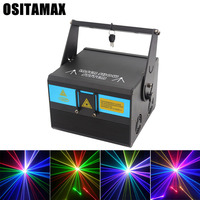 5W(3/4/8/10W optional) Pattern LED Laser Projector Christmas Decorations for home Laser Disco Light Stage Party Pattern Light