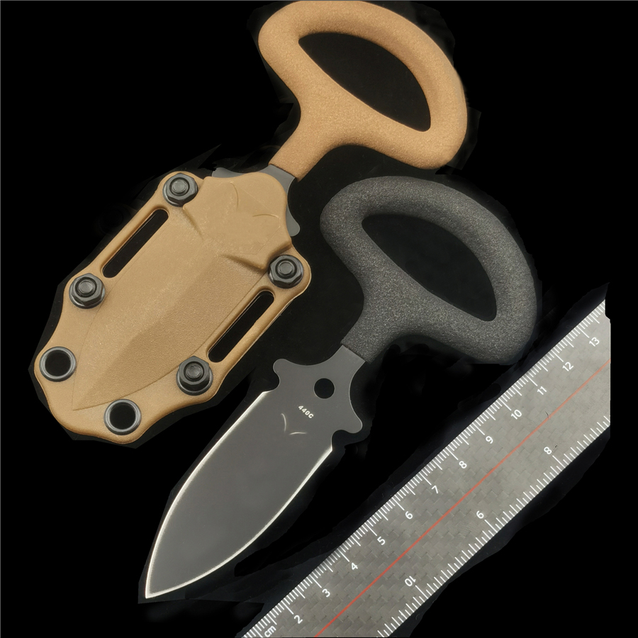 Нож с чпу IWOWN BM175BK 440C с K ножнами, ручка с виниловым покрытием, походный нож для повседневного использования Ножи      АлиЭкспресс