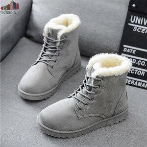 Women Boots 2019 Winter Snow B