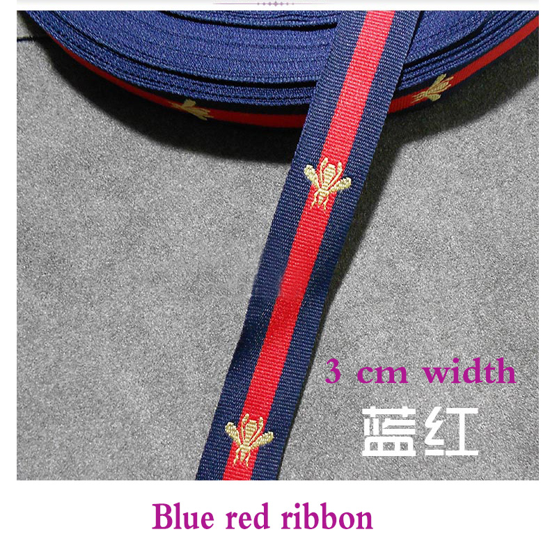 DD new bee lace belt, lace green, red, black, decorative lanyard, high-grade gift packaging rope packaging belt ribbon(China)