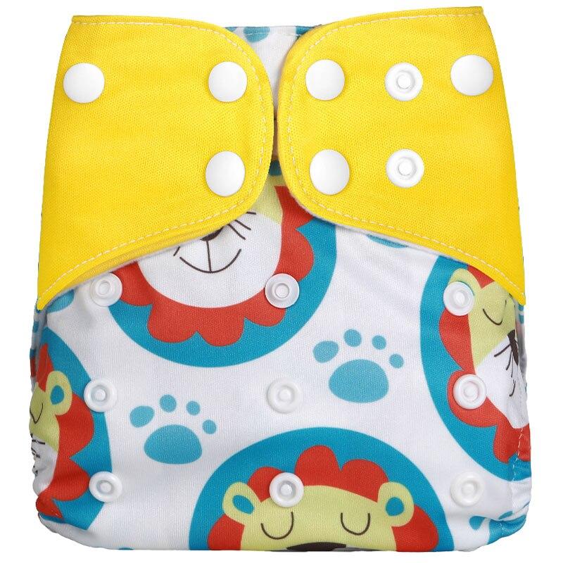 [Simfamily] 1 шт. многоразовые тканевые подгузники, регулируемые детские подгузники, моющиеся подгузники, подходят для 3-15 кг детские подгузники - Цвет: NO18