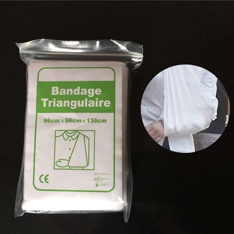 Bandage Medical Burn Dressing Bandage Triangular First Aid Kit Wrap Bandage Fracture Fixation Emergency Bandage Wound Care