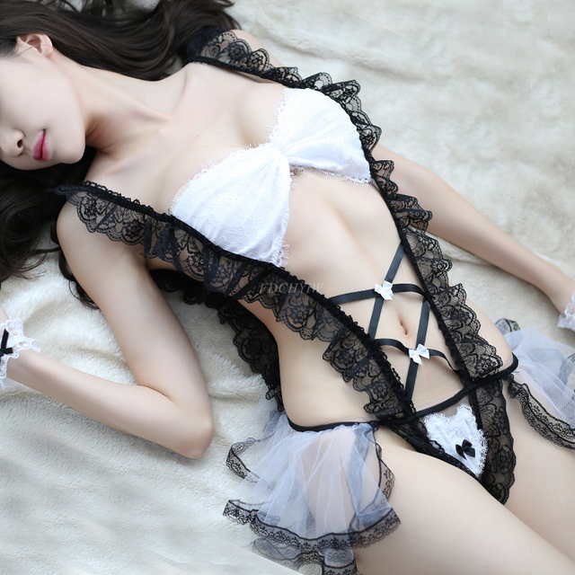 Japanese Maid Cosplay Costumes 3