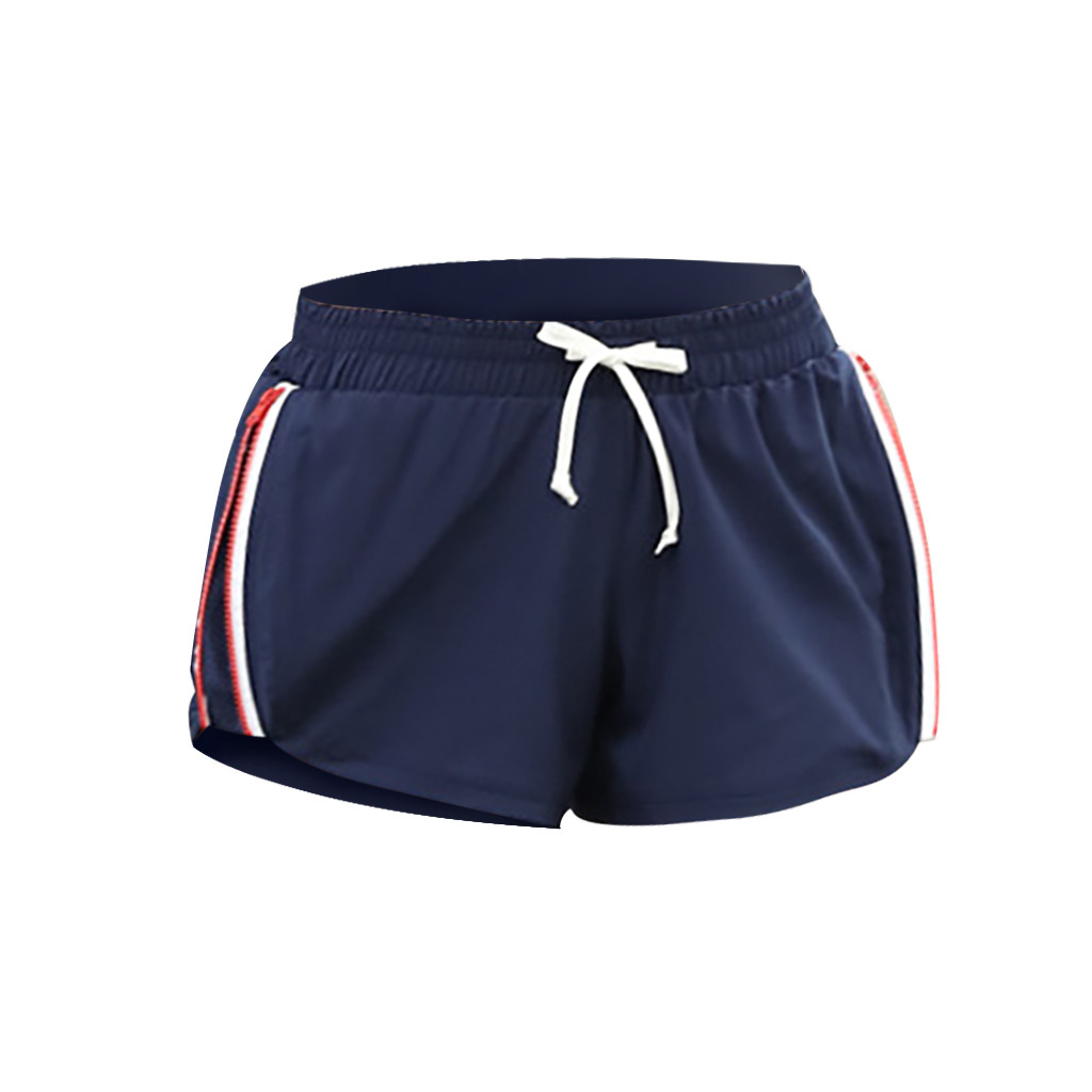 Womens Yoga Shorts Fitness Hot Pants Beach Sports Jogging Casual Shorts Pants Exercise Running Yoga Breathable Sweating Pants 0F