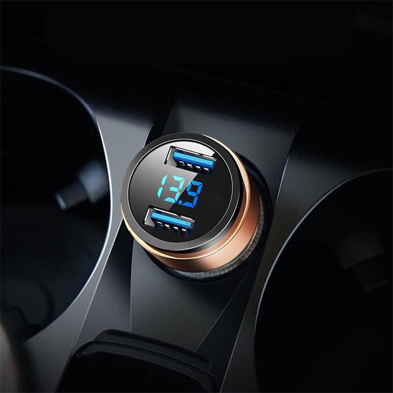 3.1A chargeur de téléphone de voiture double USB pour Phaeton Phideon Variant Touran scarabée t-cross t-roc Atlas Amarok Tarok MOIA CARAVELLE MULTIV