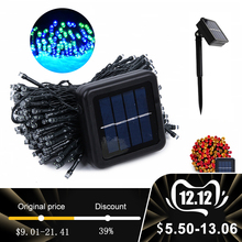 Solar Led Light Outdoor Solar Garden Light Waterproof Solar Lamp Outdoor Led Sun Powered Solar Powered Lamp Fairy Strip Light