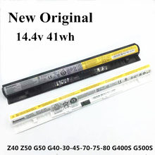 цена на New Original Laptop replacement Li-ion Battery for Lenovo G400S G405S Z40 G50 G40-30-70-75-80 14.4v 41wh