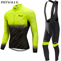 Phtxolue 2020 inverno velo térmico ciclismo jerseys conjunto mtb bicicleta roupas maillot ropa invierno ciclismo roupas