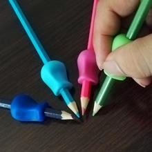 5 шт./компл. захват для помощи в письме силиконовый рукописного ввода дети карандаш сцепление мягкие Подарки для коррекции осанки инструмент рукописного ввода инструмент#20