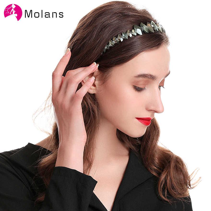 Новинка, обручи для волос ручной работы, цвета слоновой кости, разные размеры, жемчужные повязки для женщин, бирюзовый, кристалл, камень, жемчуг, сплав, повязки для волос