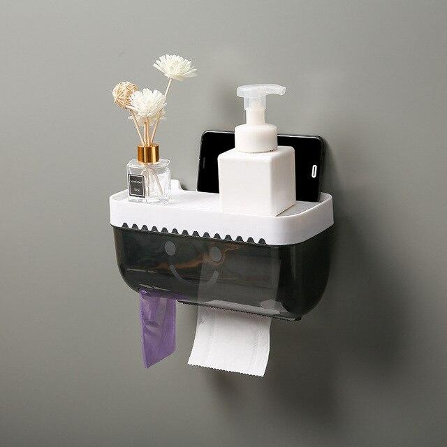 Porte Papier Toilette avec Support