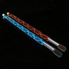 1 пара барабанных палочек красочные меняющиеся 5A светодиодный барабанные палочки джазовые барабанные палочки для сцены вечерние реквизиты для выступлений