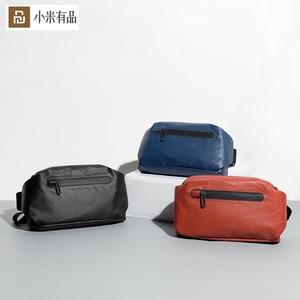 Image 1 - Original Youpin 90 points fashion Pocket bag backpack waist pack waterproof 2 kinds of negative ways Warning light bar