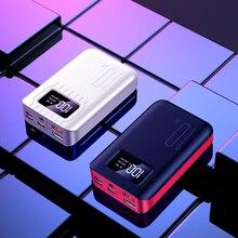 Мини внешний аккумулятор, водонепроницаемый, портативный, 30000 мА/ч, для всех Xiaomi, смартфон, батарея, внешний аккумулятор, быстрая зарядка, внешний аккумулятор, светодиодный