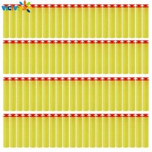 Image 1 - 100PCS עבור נרף כדורים רך פרייר ראש 7.2cm מילוי חצים צעצוע אקדח כדורים עבור נרף סדרת Blasters חג המולד ילד ילדי מתנה