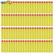 100Pcs Voor Nerf Kogels Zachte Sucker Hoofd 7.2Cm Refill Darts Speelgoed Pistool Kogels Voor Nerf Series Blasters Xmas kid Kinderen Gift